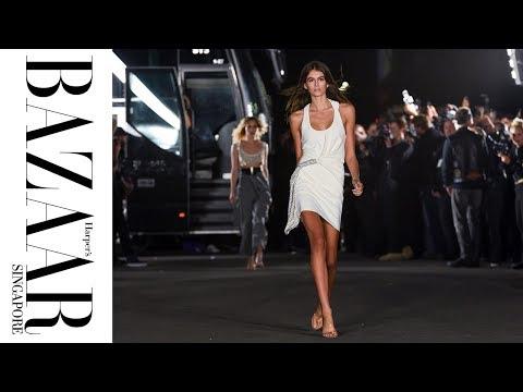 Kaia Gerber, Kendall Jenner, Bella Hadid and More Walk the Alexander Wang SS18 Show