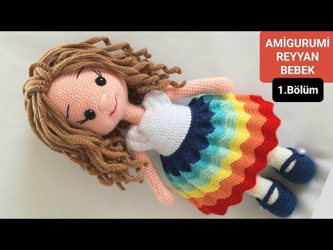 Amigurumi kız bebek. 1. bölüm: ayak ve bacak yapımı - YouTube | 360x480