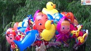 BALONKU Ada Lima Versi Sule - Balon Masha, Boboiboy, Upin Ipin, Pokemon, Doraemon, Frozen