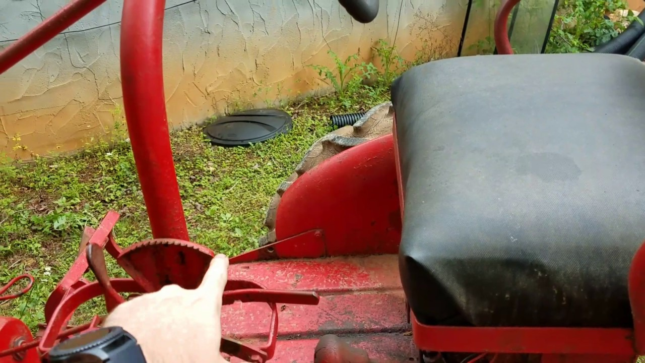 small resolution of 63 farmall cub throttle and governor issue
