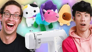 The Try Guys Make Plushies Without Instructions