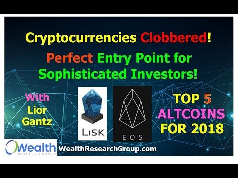 Cryptocurrencies Clobbered! Perfect Entry Point for Sophisticated Investors! with Lior Gantz