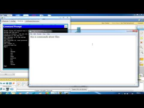 Cisco Packet Tracer 04 using server as FTP ( File Transfer Protocol )