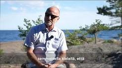 Tommy Hellsten kirjastaan Enää en pelkää - Kirja rakkaudesta
