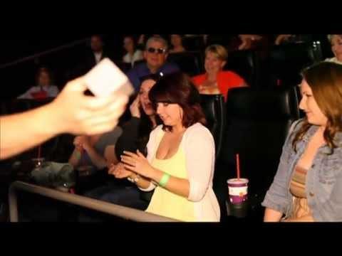 Epic Movie Theatre Marriage Proposal Richie Joannes Engagementw