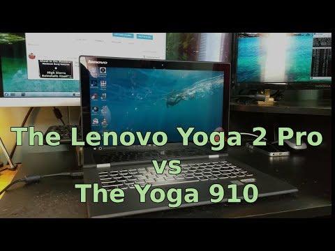 The Lenovo Yoga 2 Pro vs the Yoga 910