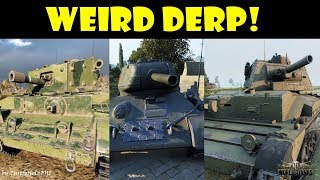 World of Tanks - Funny Moments | WEIRD DERP!
