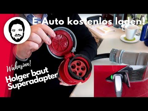 E-Auto Kostenlos Laden! Holger Laudeley Baut Superadapter