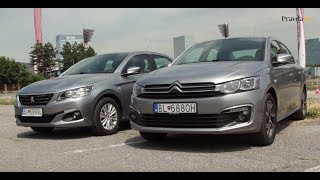 Test 2017 Citroën C-Elysée vs Peugeot 301