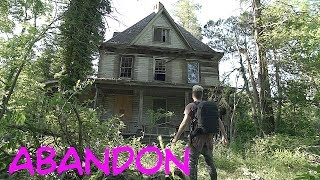 Abandoned ADDAMS FAMILY MANSION - Car Graveyard In Backyard!