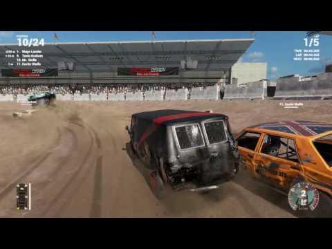 Next Car Game: Wreckfest #22 ( Deutsch ) Crash Valley