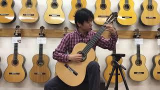 三浦隆志 SJ-1 2008y  曲:ラグリマ / F.タレガ 演奏:益田展行 Noriyuki,Masuda