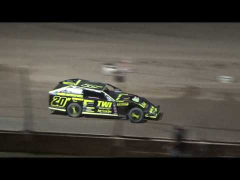 I.M.C.A. Heat Race #4 at Crystal Motor Speedway, Michigan on 09-15-2018!