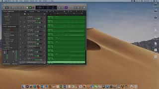 logic pro x software instrument. only midi. hor romania