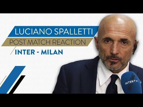 """INTER-MILAN 1-0   Luciano Spalletti Interview: """"We were the dominant team"""""""