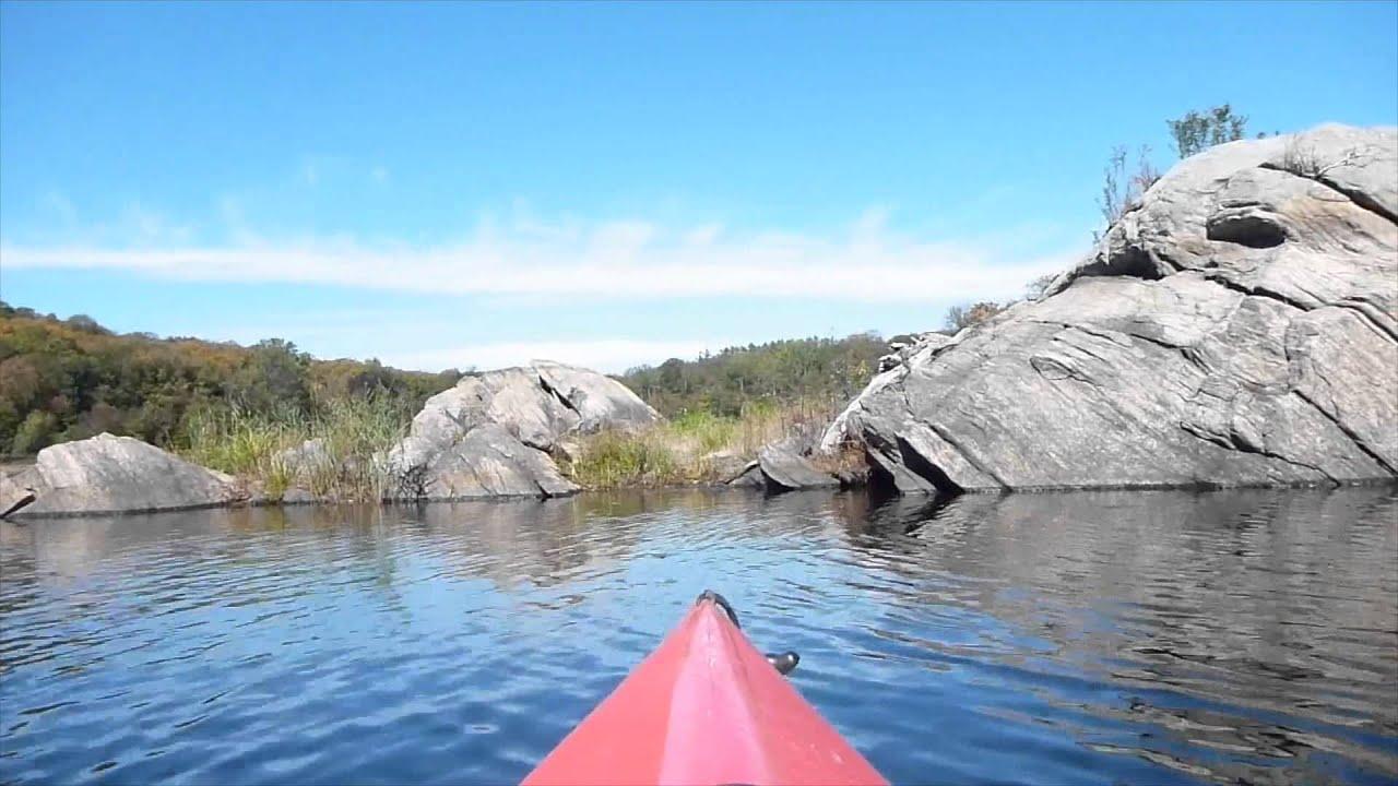 Kayak NJ Splitrock Reservoir Fall Paddle 101015