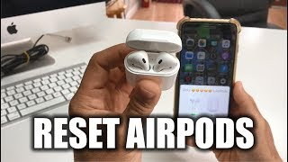 How To Reset your Apple AirPods - Hard Reset