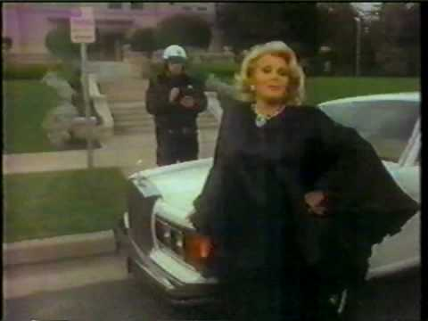 """Zsa Zsa Gabor: """"Darling, don't touch my wheel."""""""