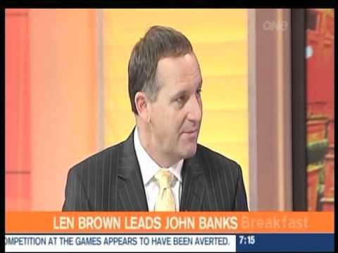 FULL Breakfast Paul Henry/ John Key Interview