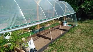 Idea de Invernadero casero - Serre fait maison - DIY Greenhouse