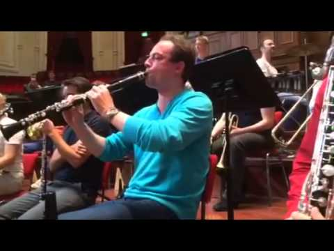Gershwin Rhapsody in Blue, Clarinet solo