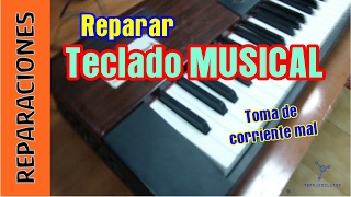 Reparar teclado musical