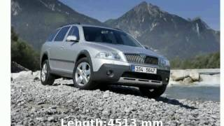 2003 Skoda Octavia Combi 1.9 TDI 4x4 -  Speed Specification Technical Details Features