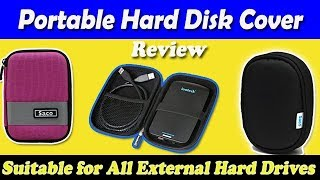Saco External Hard disk case & cover review