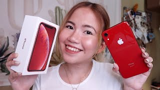 IPHONE XR UNBOXING & REVIEW (PRODUCT RED)