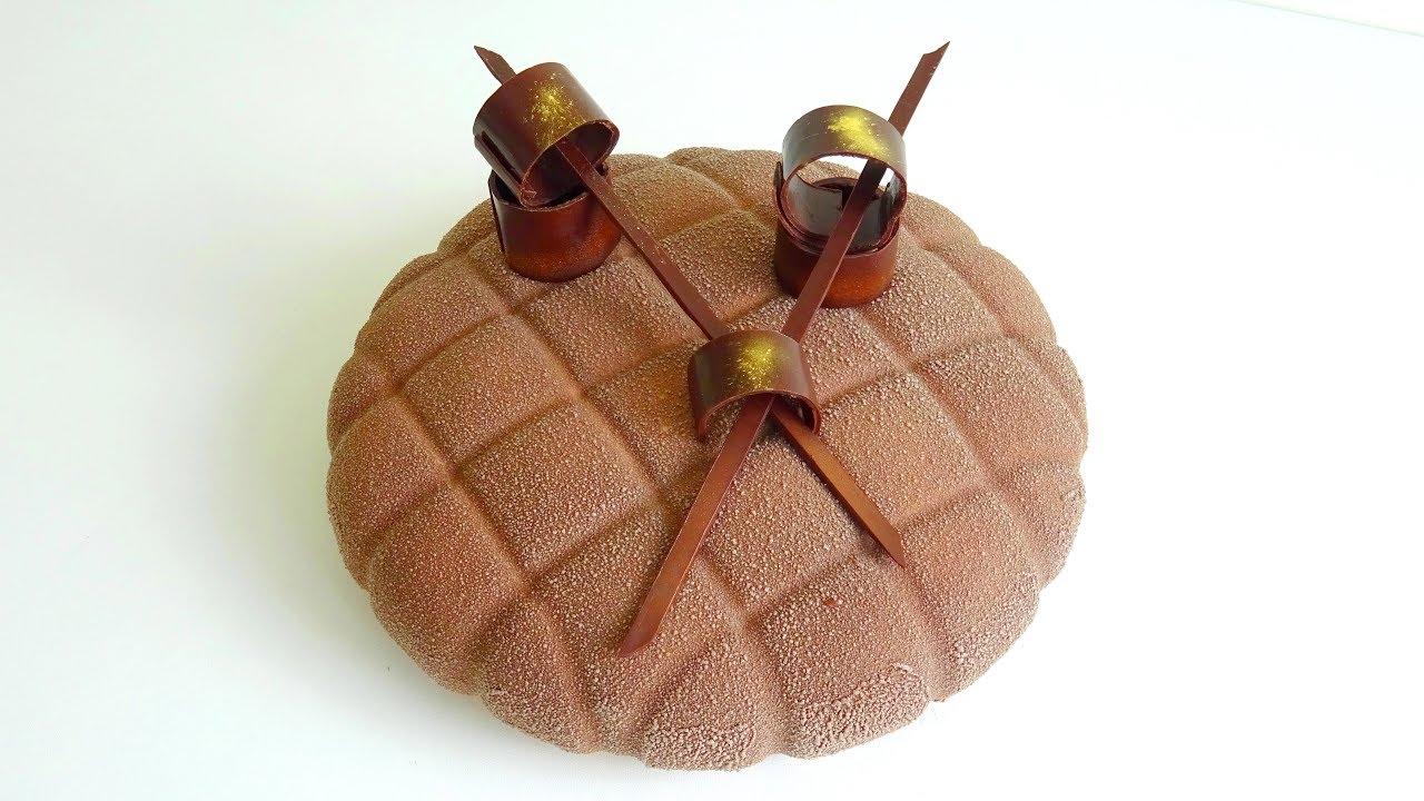 Recette Entremet Mousse Chocolat Lacte Caramel Fleur