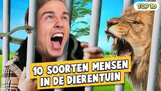 10 soorten mensen in een dierentuin! ZooParc Overloon