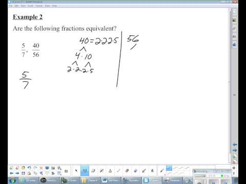 8th Grade Math - Lesson 4.3: Simplifying Fractions
