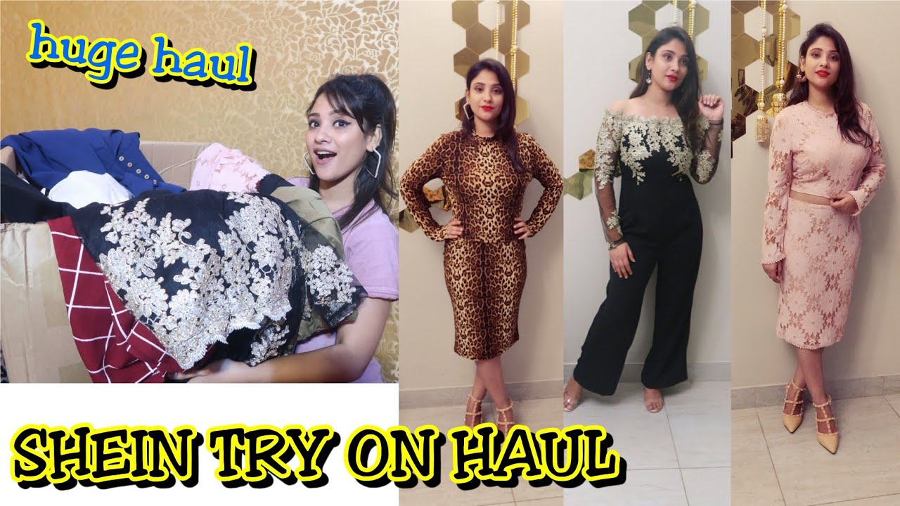 09d122f41e Shein new year haul || I tried Indo Western first time 💋 || shystyles