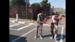Double Jointed Street Performers in SOWETO