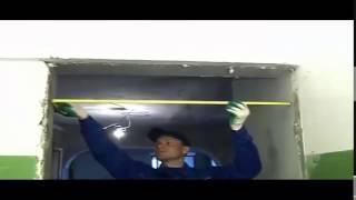 видео Как правильно сделать замер входной двери