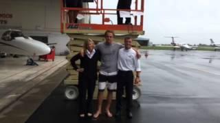 Elliott Aviation Ice Bucket Challenge Minneapolis