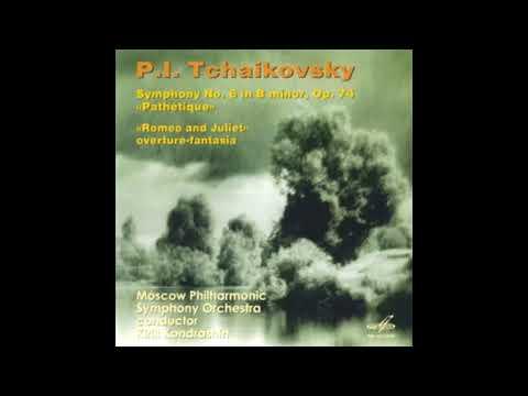"""TCHAIKOVSKY: Symphony No. 6 in B minor op. 74 """"Pathetique""""  / Kondrashin"""