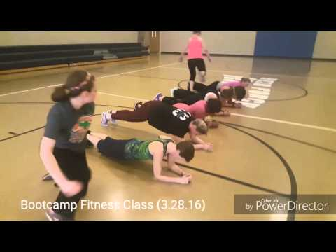 MONDAY WORKOUT: Bootcamp Fitness Class - 1 Hour | 3.28.16