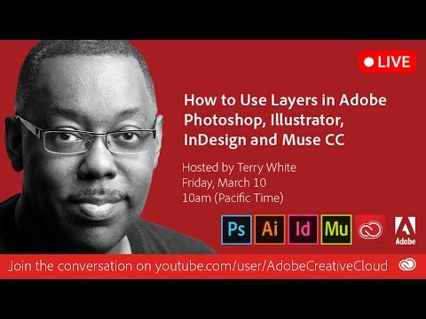 How to Use Layers in Photoshop, Illustrator, InDesign and Muse CC