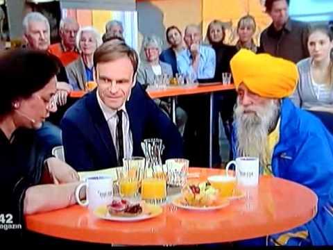 Sikh runner Fauja Singh   in German TV ZDF  31 October 2011