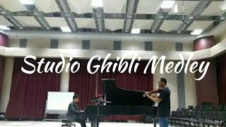 Studio Ghibli Medley. Performed by Ty Xiong and Devin Brown