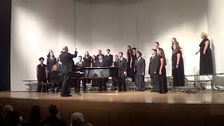 Raytown High School Camerata Performs 'Go Said the Star'