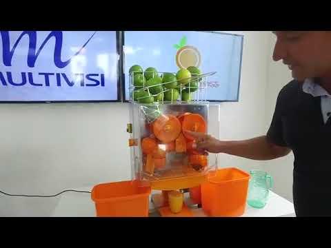 b0f8b3a34 Máquina Profissional Laranja Express - YouTube