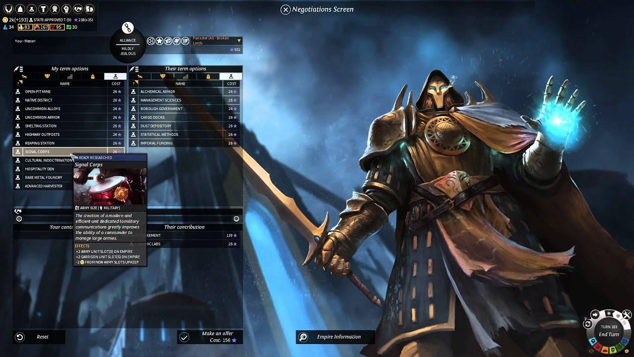 Let's Conquer: Endless Legend Episode 18 Rebuilding and Preparing ...