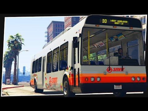 AMAZING NEW BUS SIMULATOR MODE FOR GTA 5