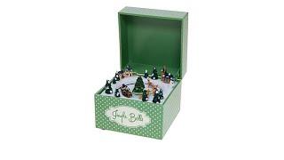"Winter Lane Embellished Music Box  ""Jingle Bells"""