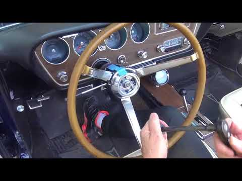How To Remove And Install A Steering Wheel On A 1967 GTO