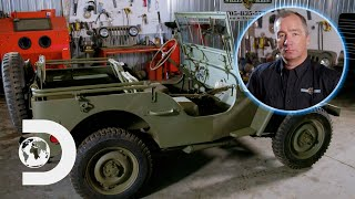 Bringing A 1942 Military Jeep Back To Life | History In The Making