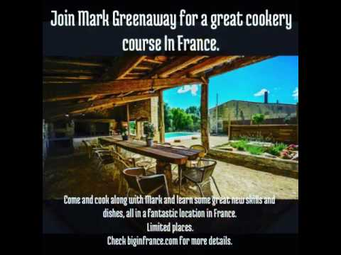 Cooking in France with Mark Greenaway.
