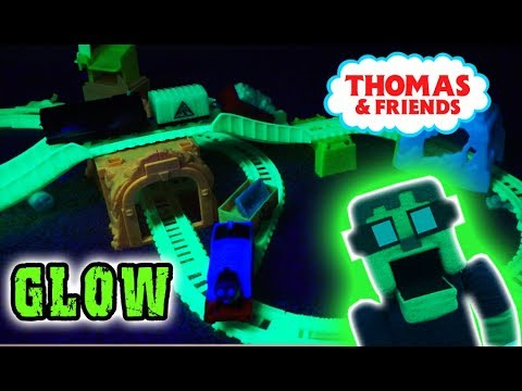 Thomas And Friends GLOW In The DARK Glowing Mine Train Playset Unboxing Full Episode Song